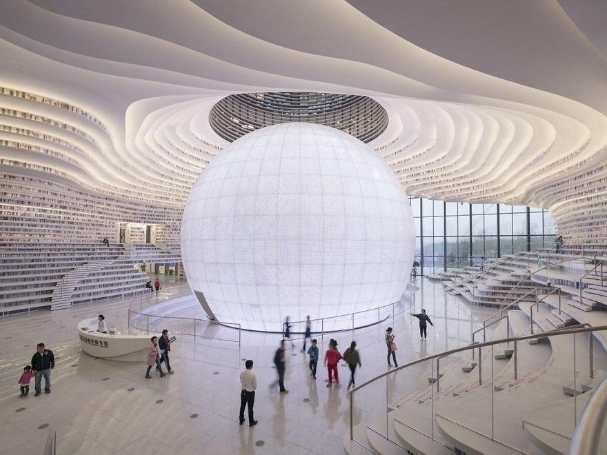 Самая крупная библиотека в Китае