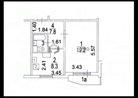 1-комн. квартира, Гурьевский проезд, 11 1