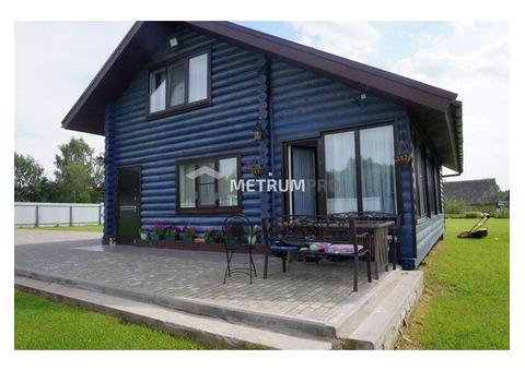 Продам дом в деревне на самом берегу реки 200 км от Москвы.