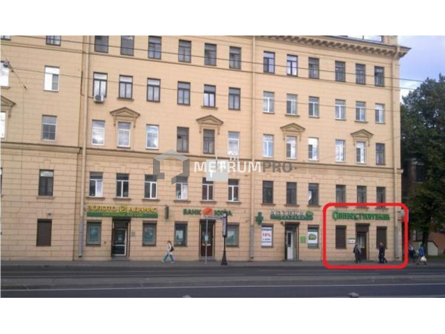Аренда помещения под банк, золото, офис, магазин, метро Нарвская, Санкт-Петербург